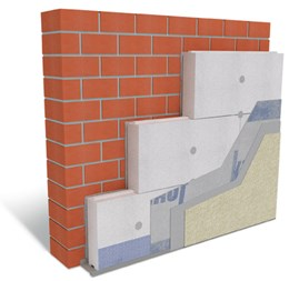 Adhesive Fixed External Wall Insulation System - Warm Wall Energy