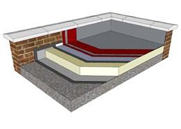 Decothane® Liquid Applied Warm Roof System - Omega 15, Gamma 20 & Delta 25