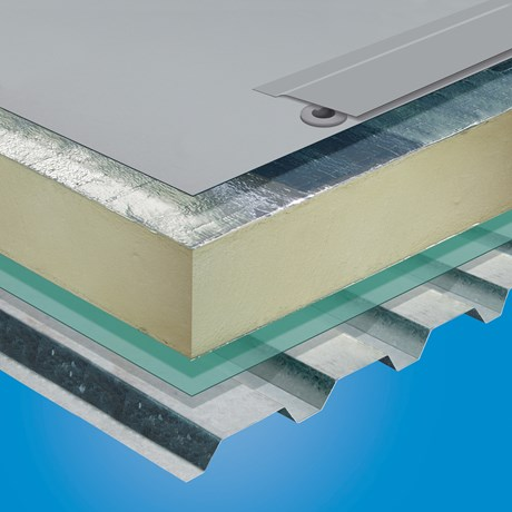 S327-EL Mechanically Fastened Roof System - Sarnavap 5000E SA
