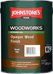 Opaque Wood Finish