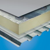 Sika-Trocal® S Mechanically Fastened Roof System - S-Vap 500E