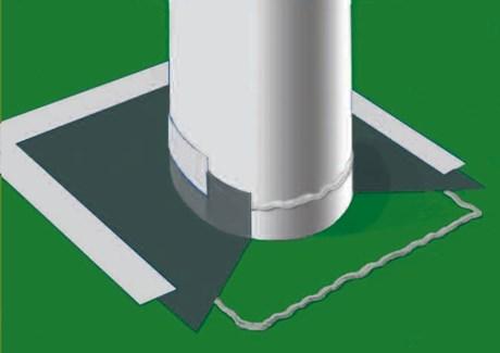 Radon Stop 400 Pipe Gasket