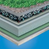 TG66 Green Roof System - Cuspated PUR Foam Drainage Board