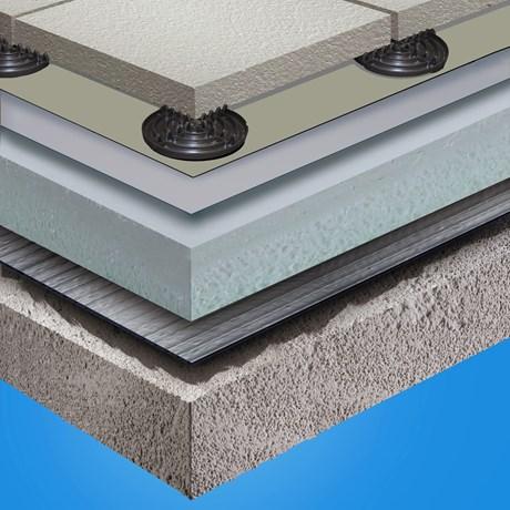 G410-EL Ballasted Roof System - Sarnavap 1000E & Sarnafil G445-13
