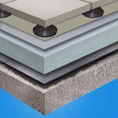 G410-EL Ballasted Roof System - Sarnavap 5000E SA & Sarnafil G445-13