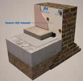 Newton 805 Newlath M10 - Damp-proof membrane