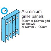General Spectrum Balustrade System - Aluminium Grille Panels