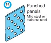 General Spectrum Balustrade System - Punched Panels