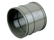 Cert PVC-U Double Socket E 110 D/SW - Soil pipe coupler