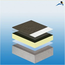 KEMPEROL® 2K-PUR Liquid Applied Solvent-Free and Odourless Waterproofing - Warm Roof System (STRATEX)