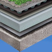 Sika-Trocal® SGMA Green Roof System – HDPE Drainage Board