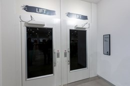 Aritco 9000 Cabin Lift - Adjacent Car Entry and Exit Doors