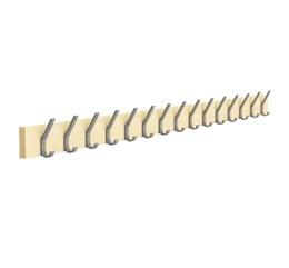 Peg Rail with coat hooks