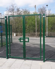 Weldmesh Double Leaf Gates