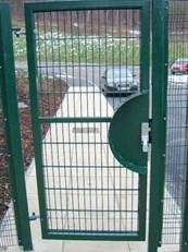 Weldmesh Single Leaf Gates