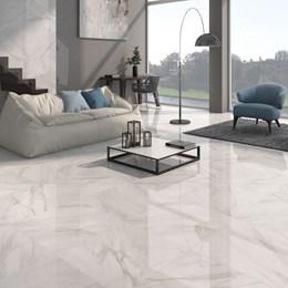 Calacatta Large Gloss Floor Tiles
