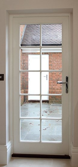 Kensington And Chelsea Single Doorset - SD1G-1P