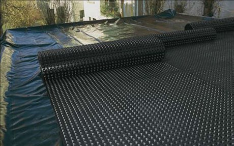 DELTA® Floraxx - Inverted roof drainage
