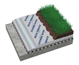DELTA® TERRAXX in intensive green roofs