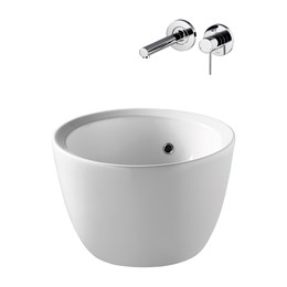 Cannobino 46 cm Vessel Washbasins