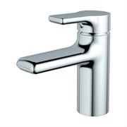 Attitude Single Lever One Hole Basin Mixer Waterfall Outlet