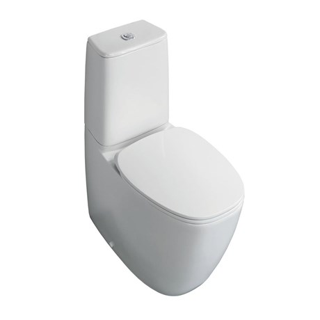 Vara Close Coupled Back-To-Wall WC Suitewith Aquablade technology