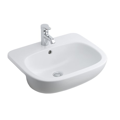 Jasper Morrison 55 cm Semi-Countertop Washbasin