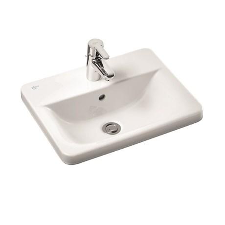 Concept Cube 50 cm Countertop Washbasin