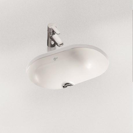 Concept Oval 55 cm Under-countertop Washbasin