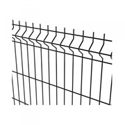 Nylofor 3D + Bekafix - Metal mesh fence panel
