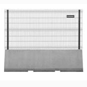Publifor HVM 135° Internal Corner- Metal mesh fence panel