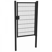 Robusta Double Leaf - Stainless steel gates