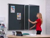 Tamperproof FlameShield® Flame Resistant Noticeboard