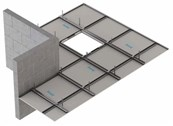 Fire Protection to Timber Floor Construction: Knauf C-Form-Soffit Lining CF7/13