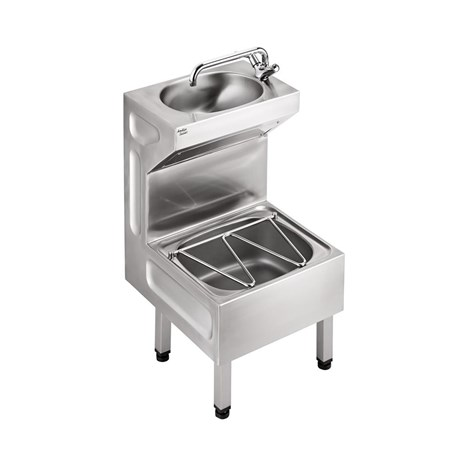 Janitorial Sink Stainless Steel Unit