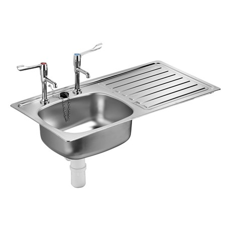 Stewart Inset Sink, Single Bowl