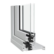 Dualframe 75 mm SI TBT Window System