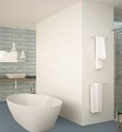Plain White Wall Tiles