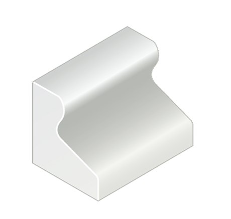 Trief® GST2A Short Kerb - 543 mm