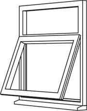 Heritage 2800 Casement - C6 Opener/Fixed