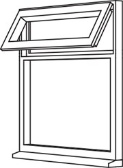 Traditional 2500 Casement - C5 Opener/Fixed