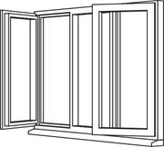 Heritage 2800 Casement - C16 Opener/Fixed/Opener