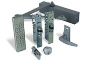 Alpro internal (access control optional) doors -Optima 28A, Waterproof Keypad, Lever