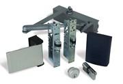 Alpro internal (access control optional) doors. -Optima 28A, Backlit Keypad, Paddle