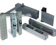 Alpro internal (access control optional) doors. - Optima 28A, Waterproof keypad, Paddle