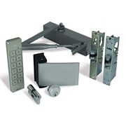 Alpro internal (access control optional) doors. - Optima980, Waterproof Keypad, Paddle