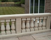 Procter Balustrade, Coping, Top rail and Plinth