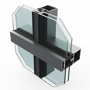 SF52 Horizontal Curtain Wall System