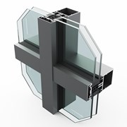 SF52 60 mm Curtain Wall System