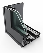 PURe® SLIDE Inline Slide Door System Double Track - OXX